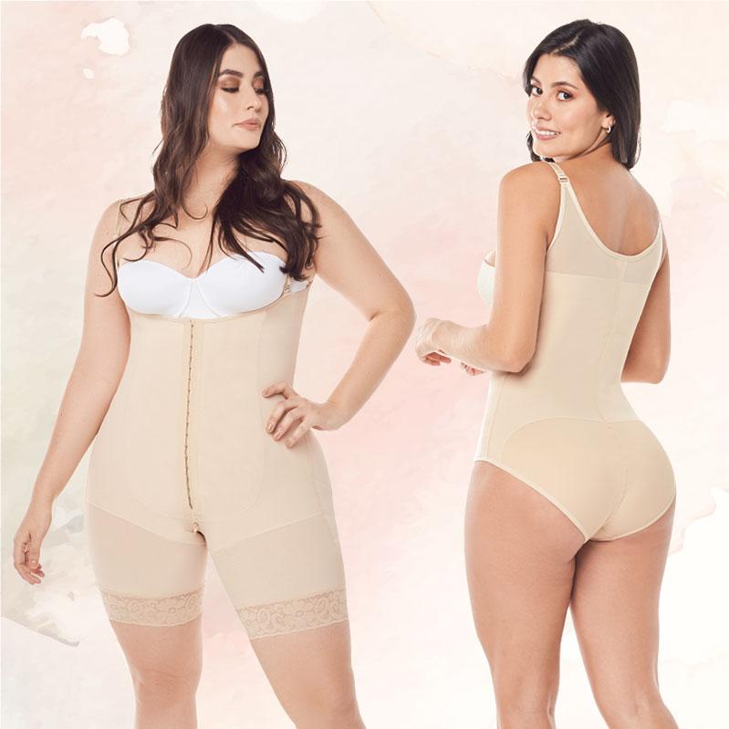Podrás elegir las prendas de control que vayas a usar en esta etapa según las zonas del cuerpo que desees moldear, la sugerencia de tu médico y el tipo de ropa que comúnmente usas.